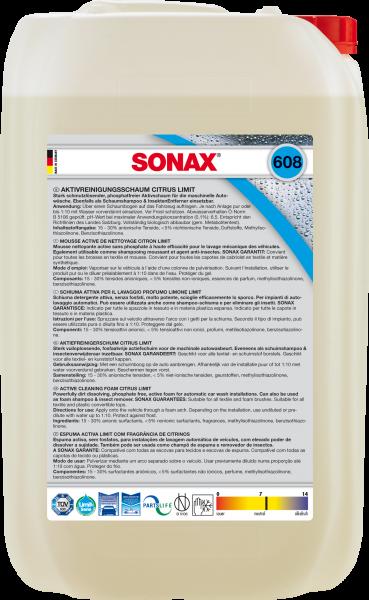 SONAX AktivReinigungsSchaum Citrus