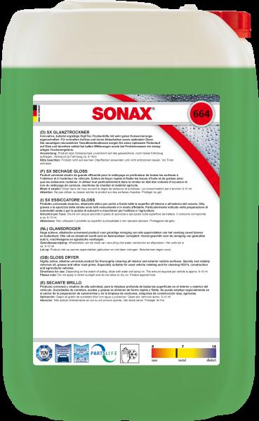 SONAX SX GlanzTrockner