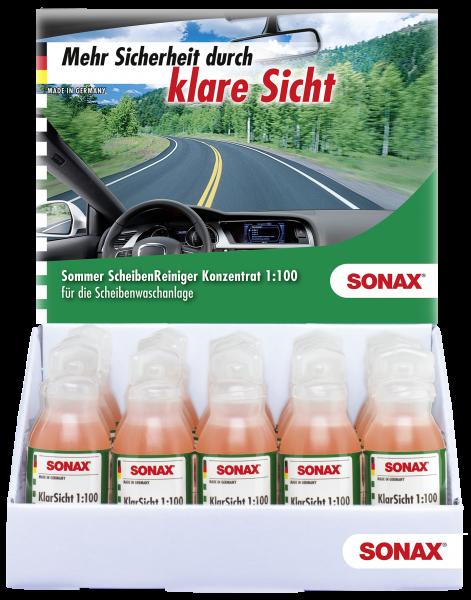 SONAX KlarSicht 1:100 Konzentrat Thekendisplay